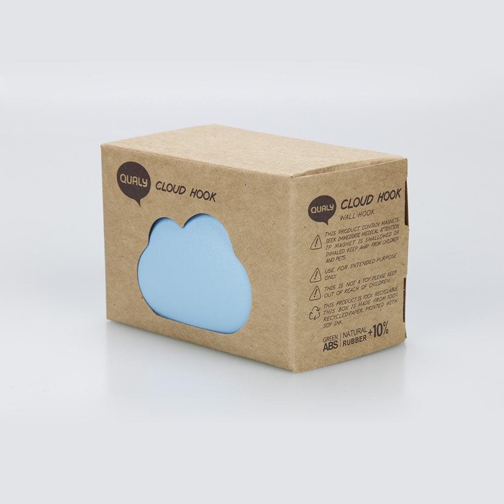 QUALY|朵朵雲兒-收納壁掛(藍)
