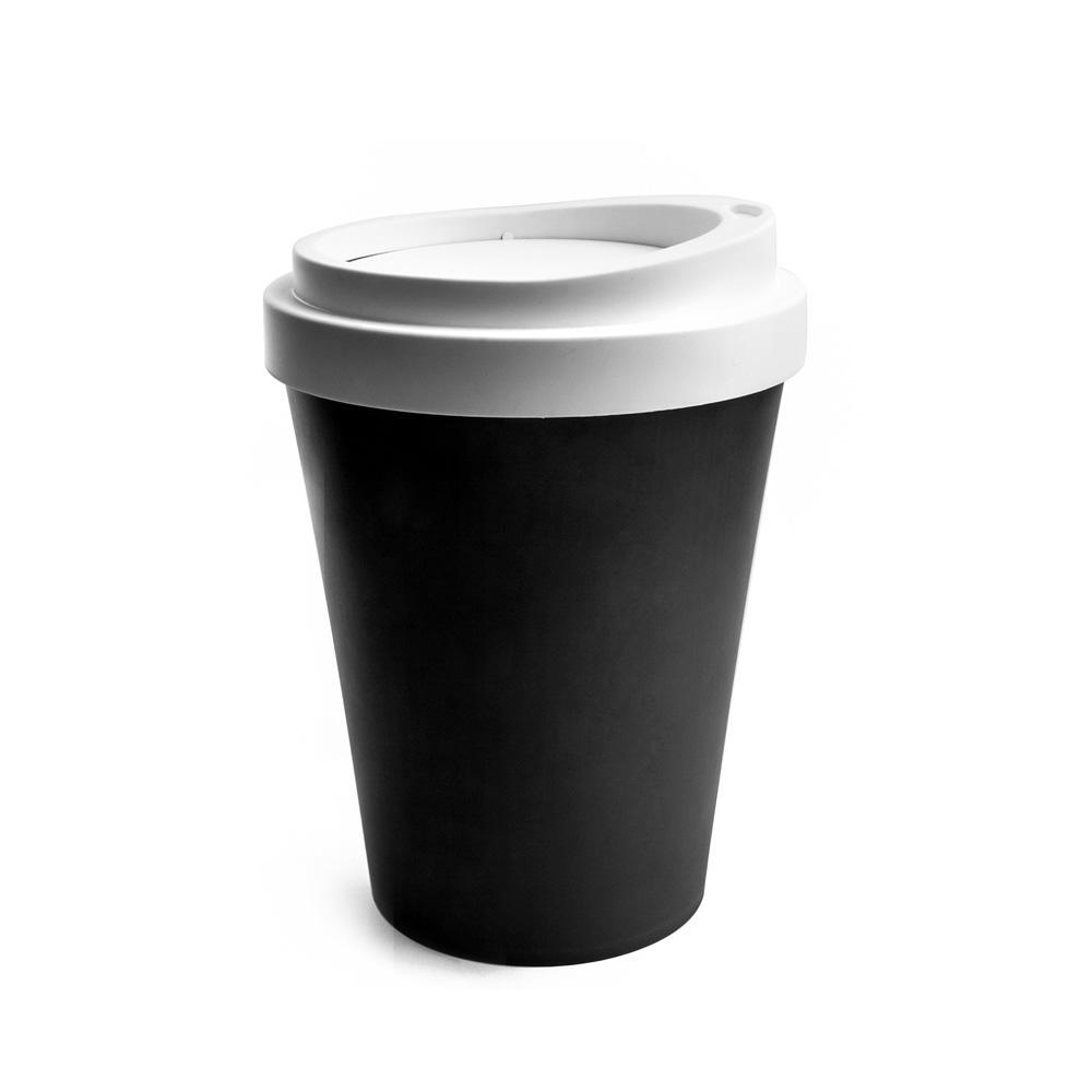 QUALY|隨行杯-垃圾桶L(黑)