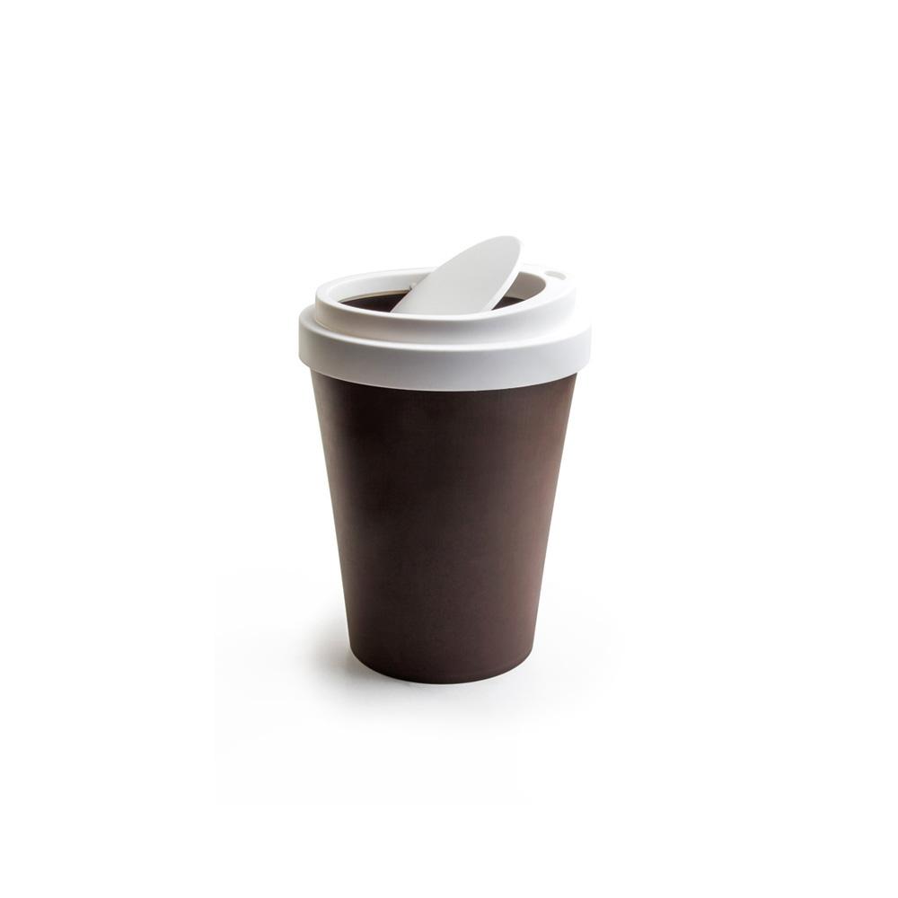 QUALY|隨行杯-垃圾桶S(咖啡)