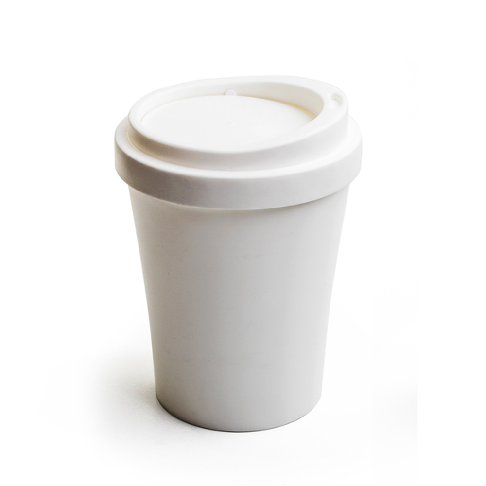 QUALY|隨行杯-垃圾桶L(白)