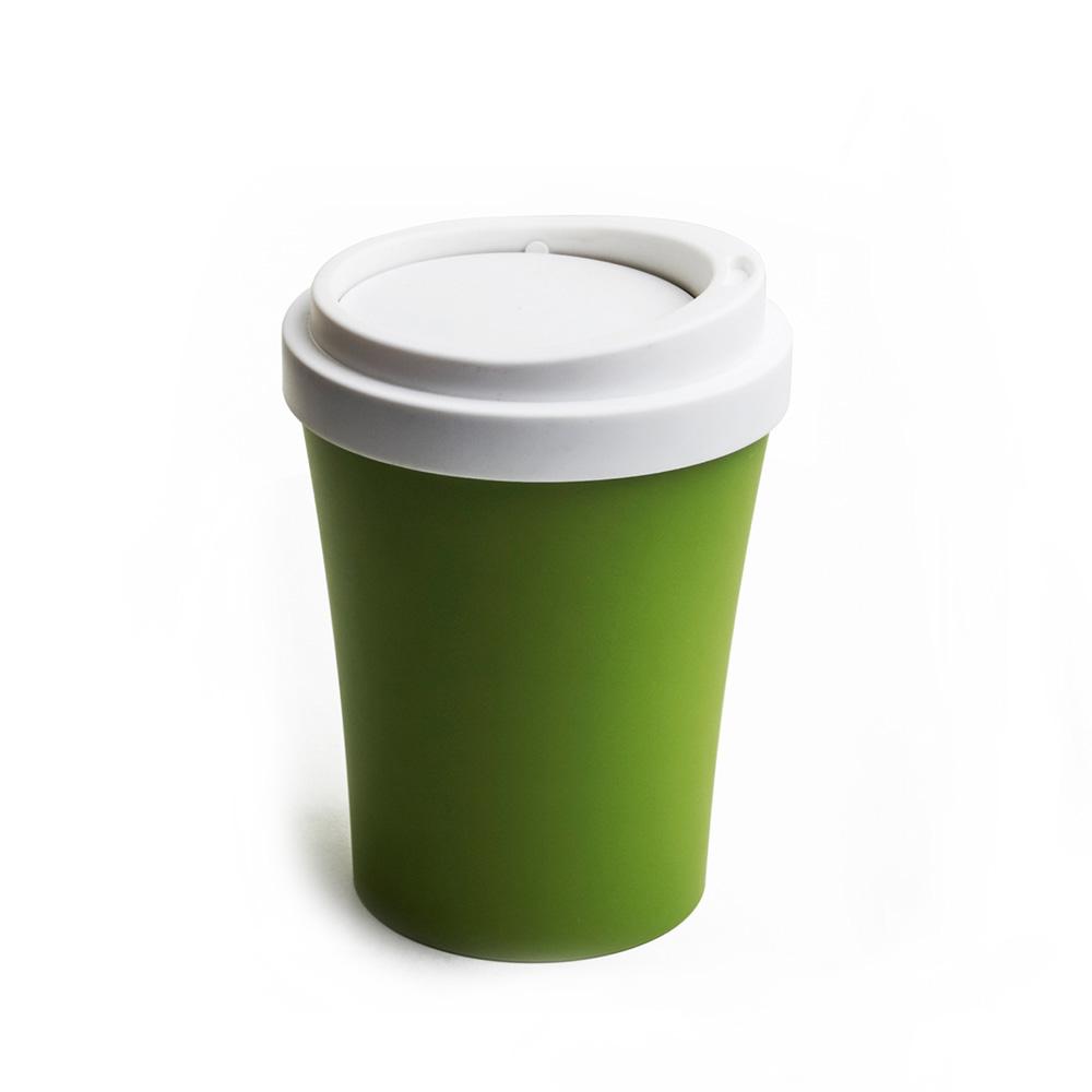 QUALY|隨行杯-垃圾桶L(綠)