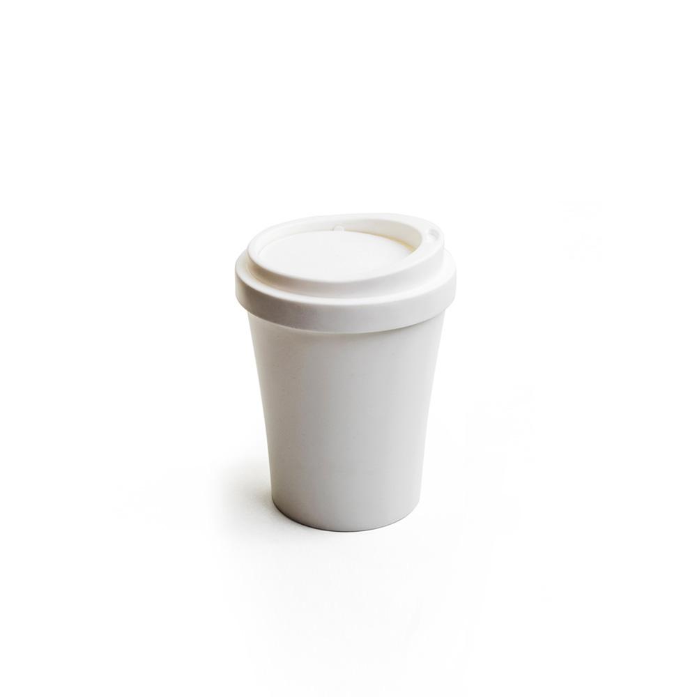 QUALY|隨行杯-垃圾桶S(白)