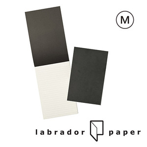 labrador|記事夾橫線補充本 M(50入)