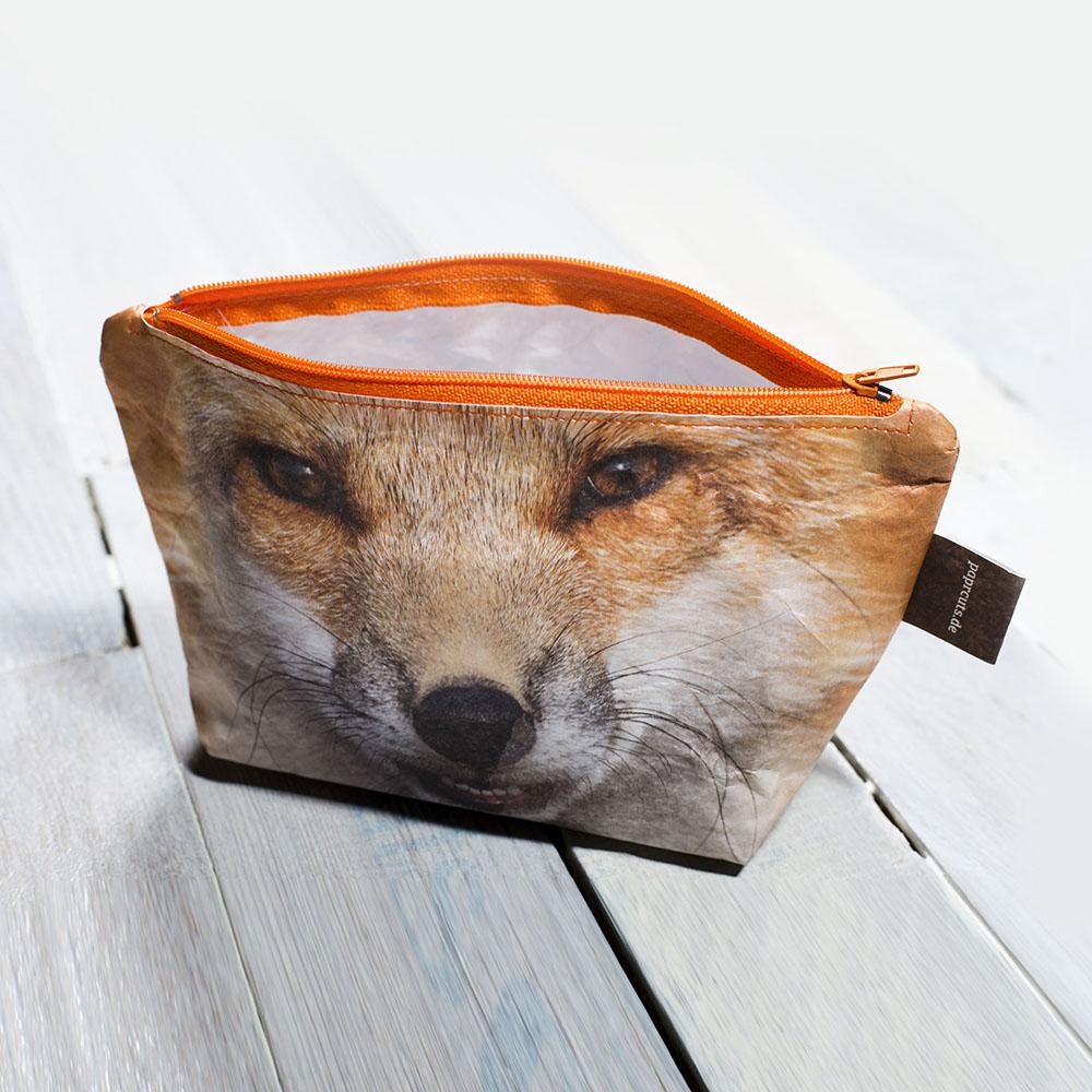 paprcuts|化妝包(狐狸)
