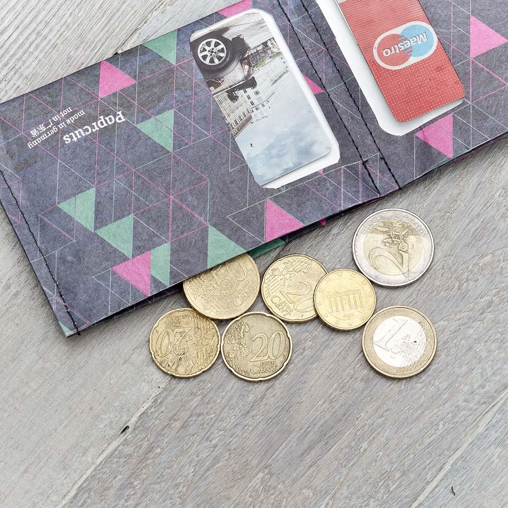 paprcuts|零錢短夾(繽紛三角形)