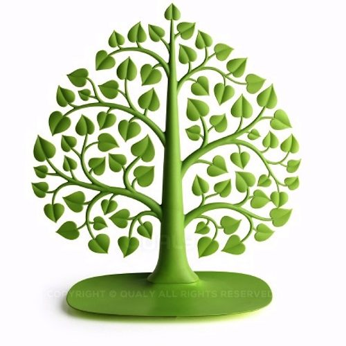 QUALY|大樹掛架-飾品架(綠)
