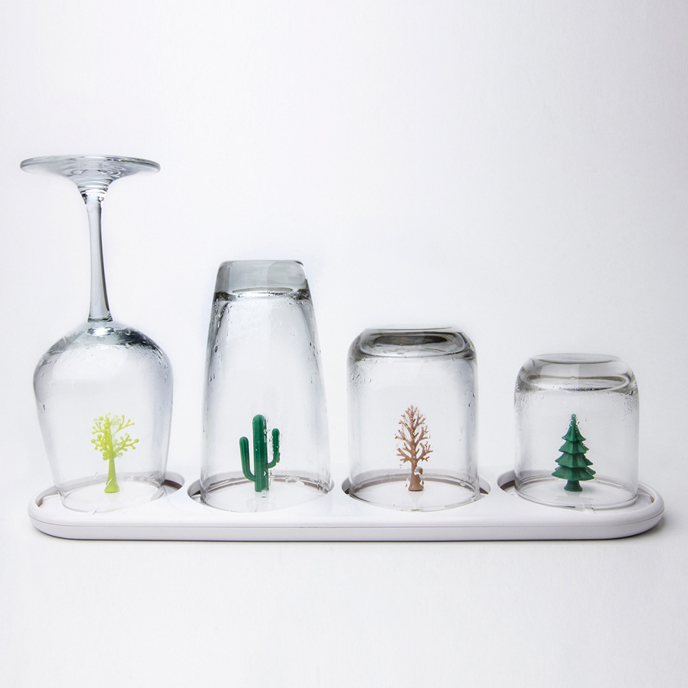 QUALY|季節滋味-杯架盤