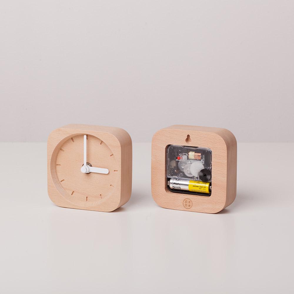 Pana Objects|純粹時鐘(白針)