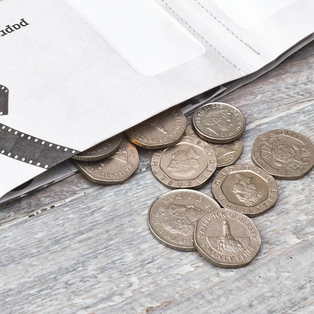 paprcuts|復刻風-零錢短夾