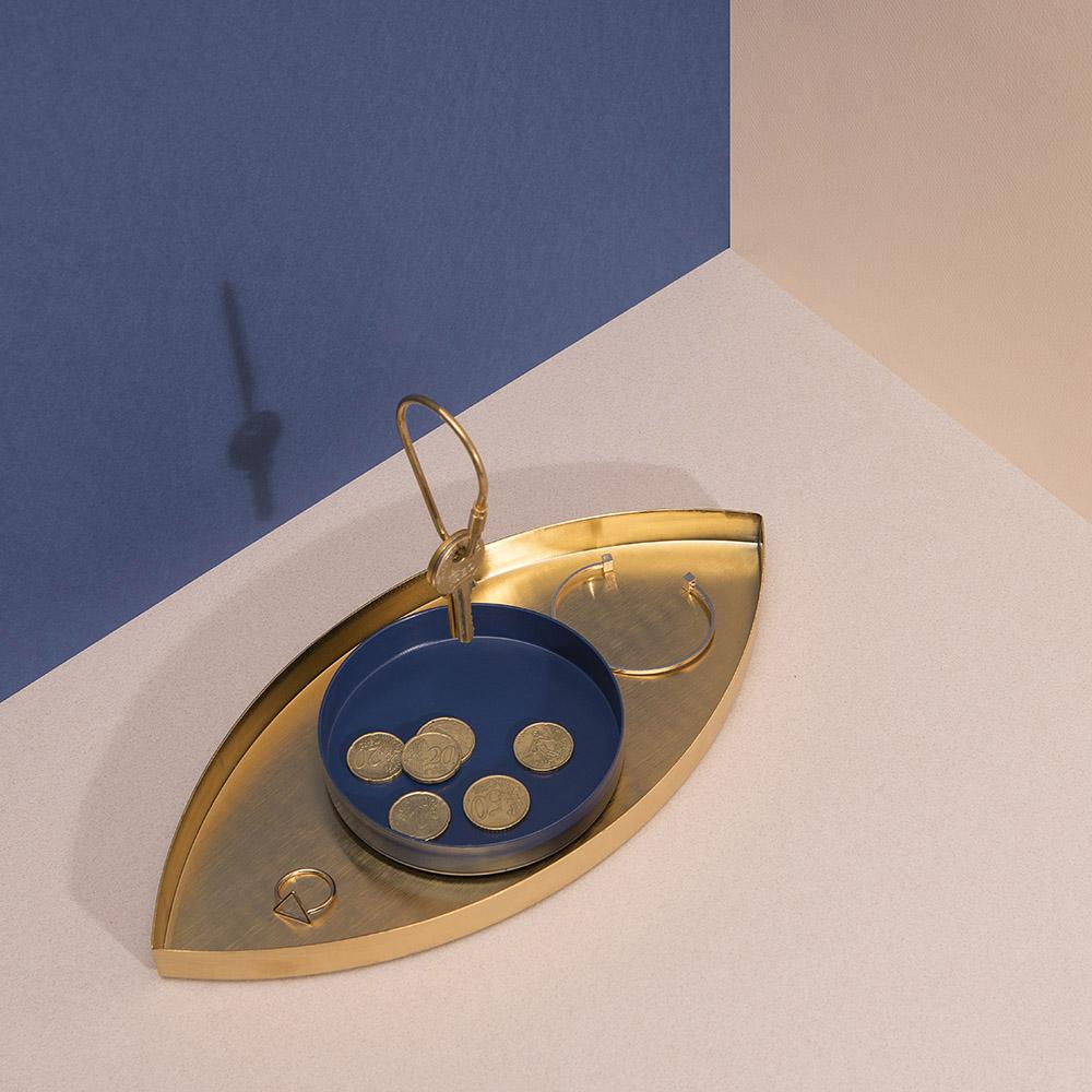 DOIY|瓦倫西亞之眼-置物盤(藍眼)