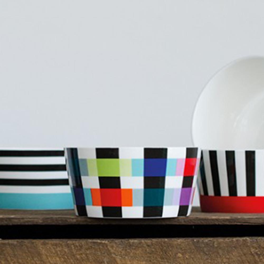 REMEMBER|骨瓷早餐碗(交織色彩)