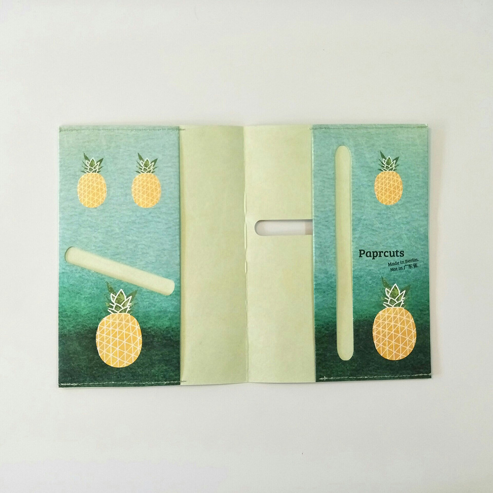paprcuts|護照夾(鳳梨)