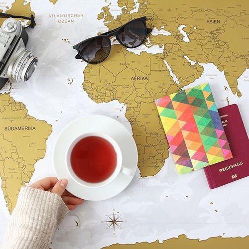 paprcuts|護照夾(萬花筒紅)