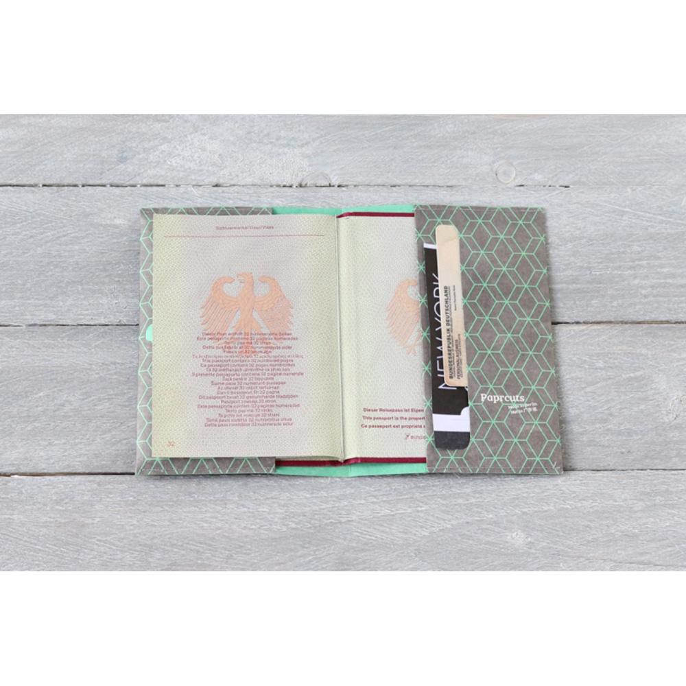 paprcuts|護照夾(窗花綠)