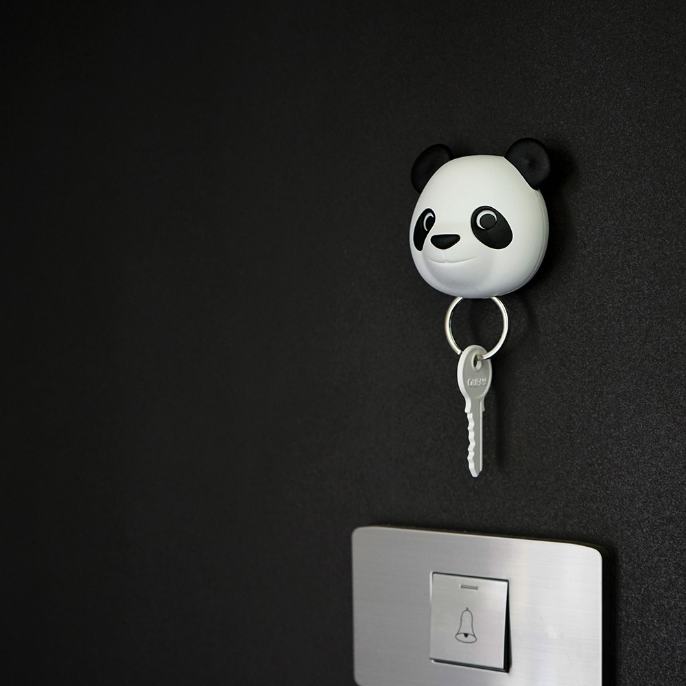 QUALY 熊貓鑰匙圈