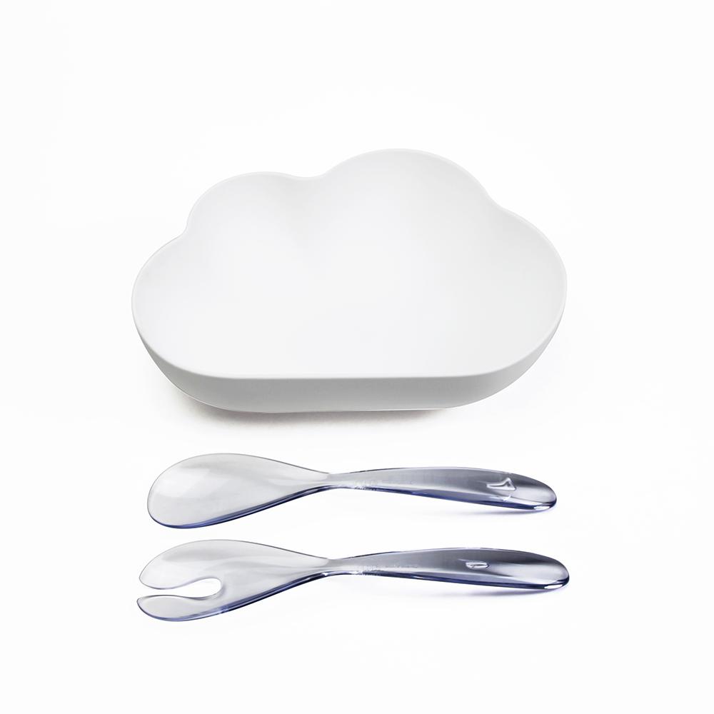 QUALY|朵朵雲兒沙拉碗