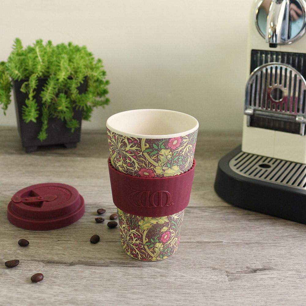 Ecoffee Cup|環保隨行杯14oz-morris藝術聯名款-繽紛花園