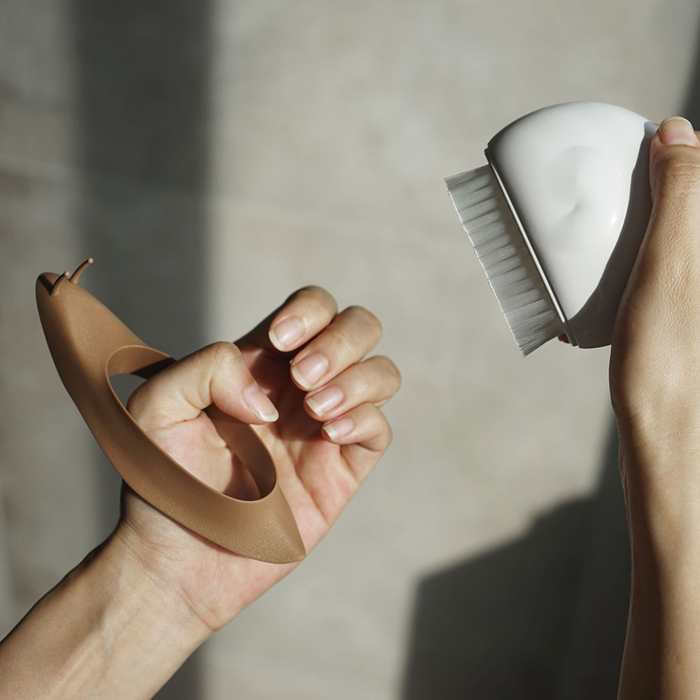 QUALY|蝸牛刷刷-指甲刷