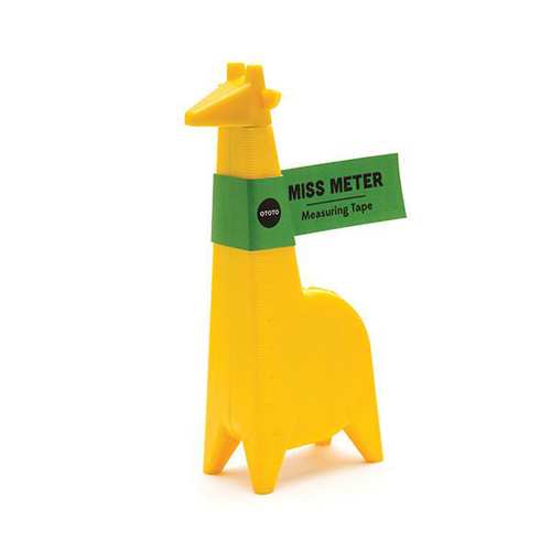 OTOTO|長頸鹿小姐-捲尺
