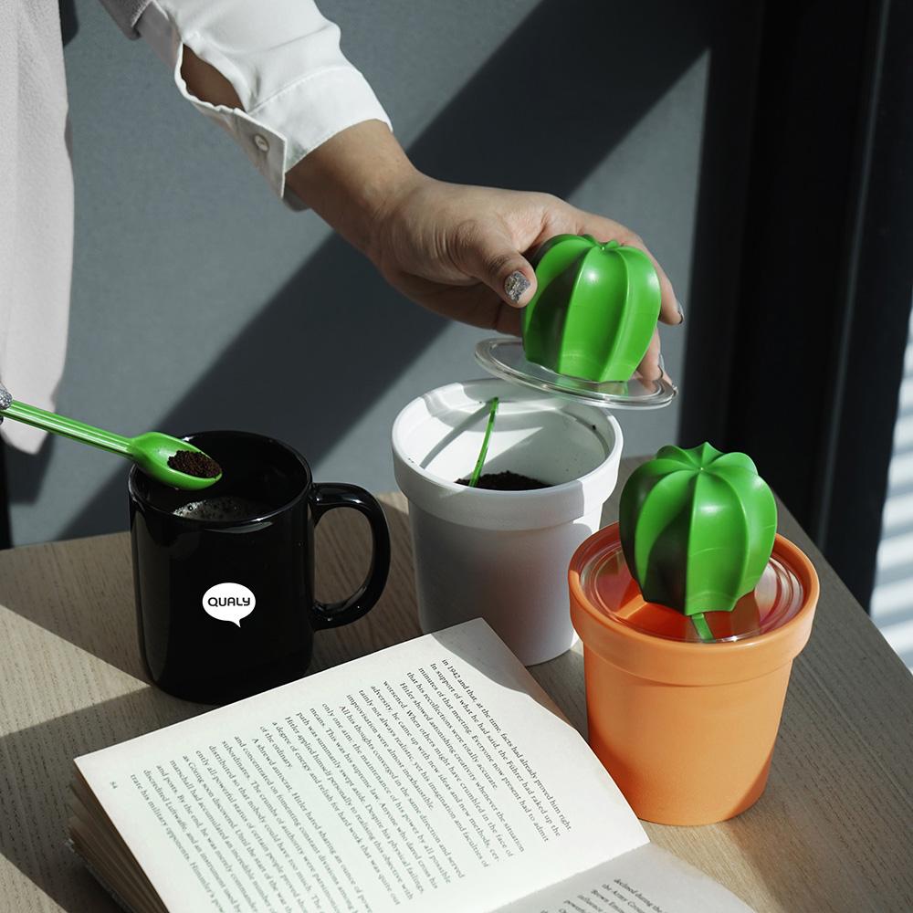 QUALY|仙人掌咖啡罐