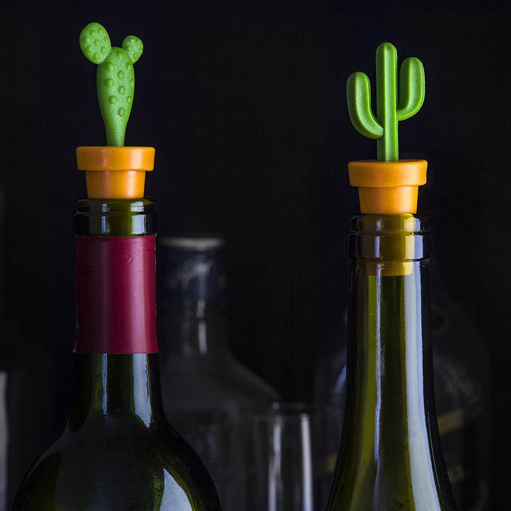 QUALY|仙人掌酒瓶塞(2入一組)