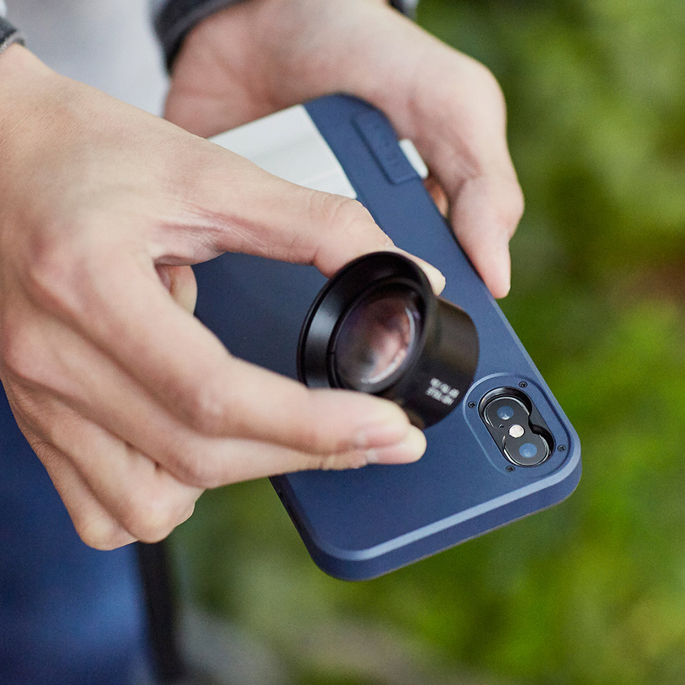 bitplay|SNAP!X攝影師套組(iX手機殼+HD高階鏡頭) - 四色任選