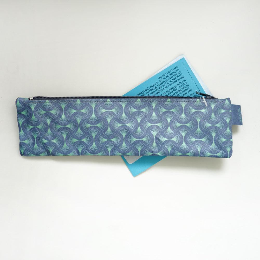 paprcuts|小筆袋(扇形綠)