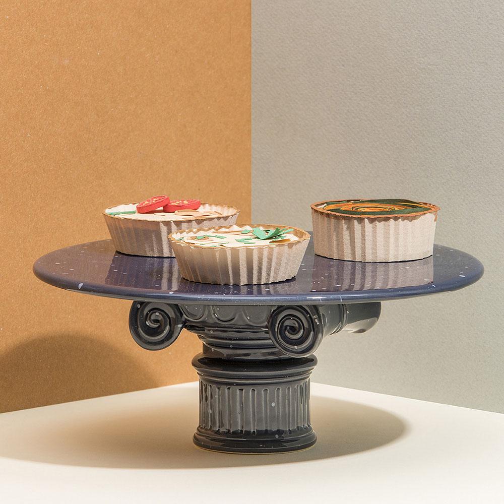 DOIY|羅馬柱蛋糕盤