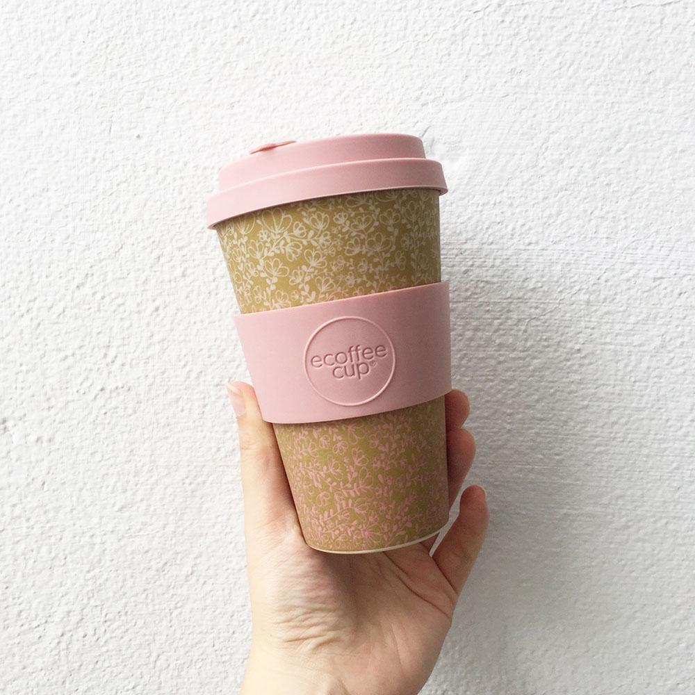 Ecoffee Cup 環保隨行杯14oz-薑花黃