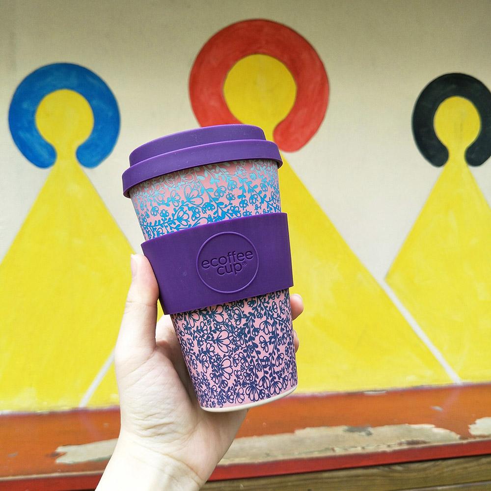 Ecoffee Cup 環保隨行杯14oz-漸層紫