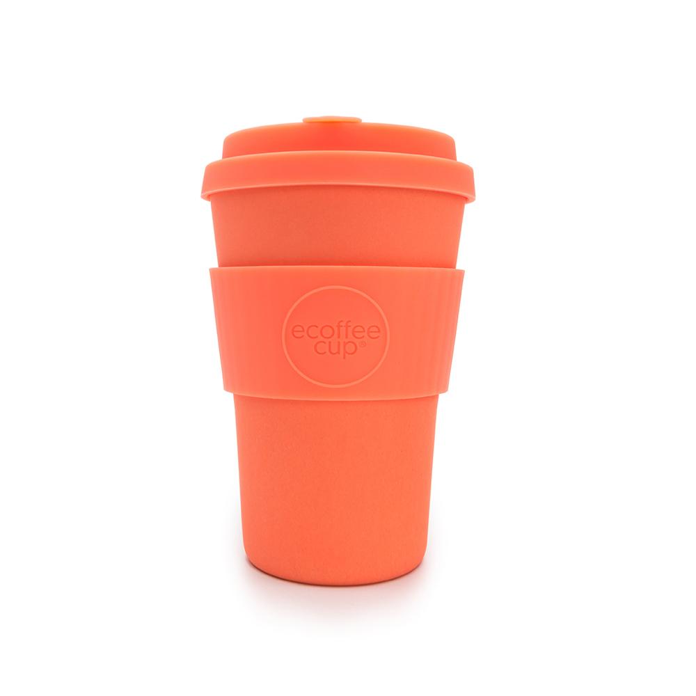 Ecoffee Cup|環保隨行杯14oz-甜橙橘