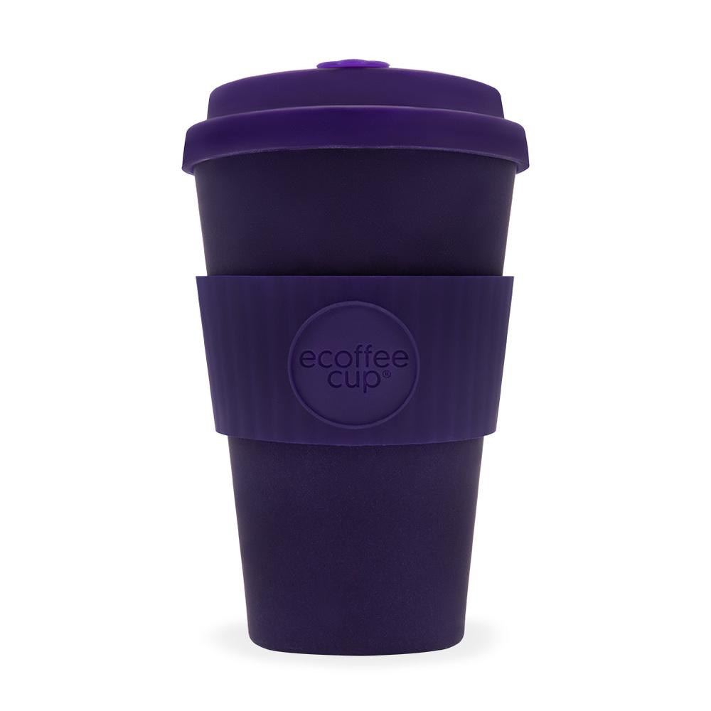 Ecoffee Cup|環保隨行杯14oz-粉藍花黛紫