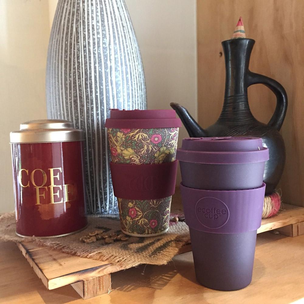 Ecoffee Cup|環保隨行杯14oz-黛紫