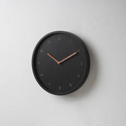 Pana Objects|美好日常-掛鐘(黑鐘銅針)