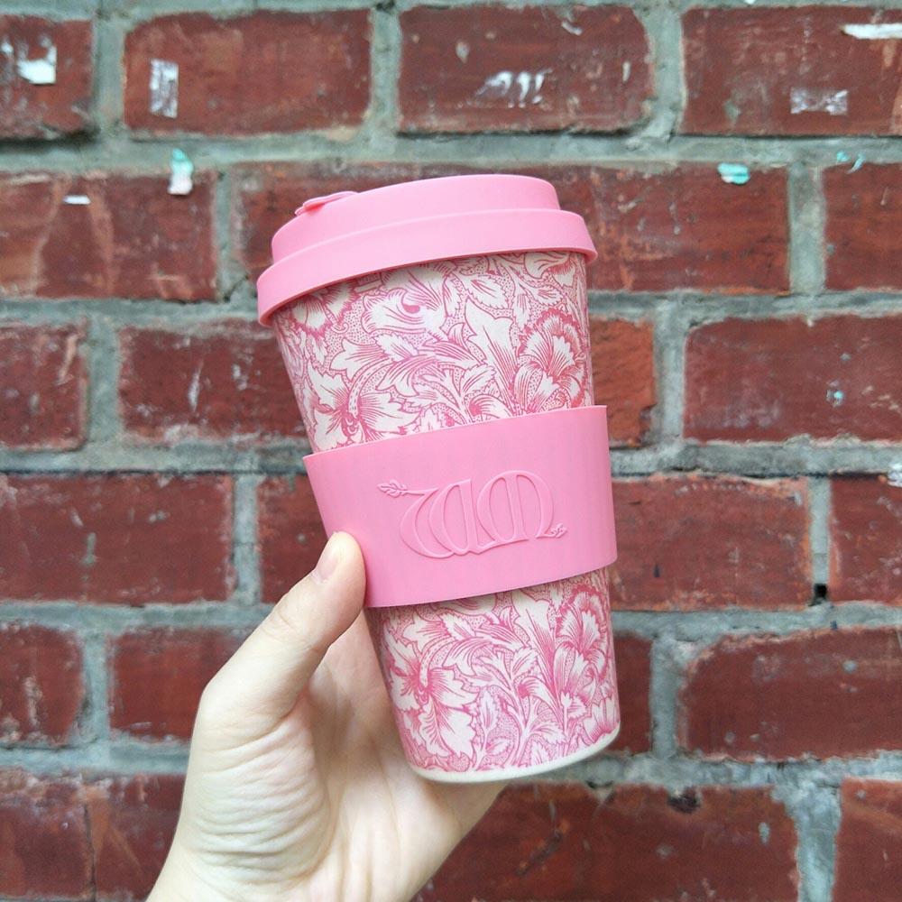 Ecoffee Cup|環保隨行杯14oz-morris藝術聯名款-罌粟花