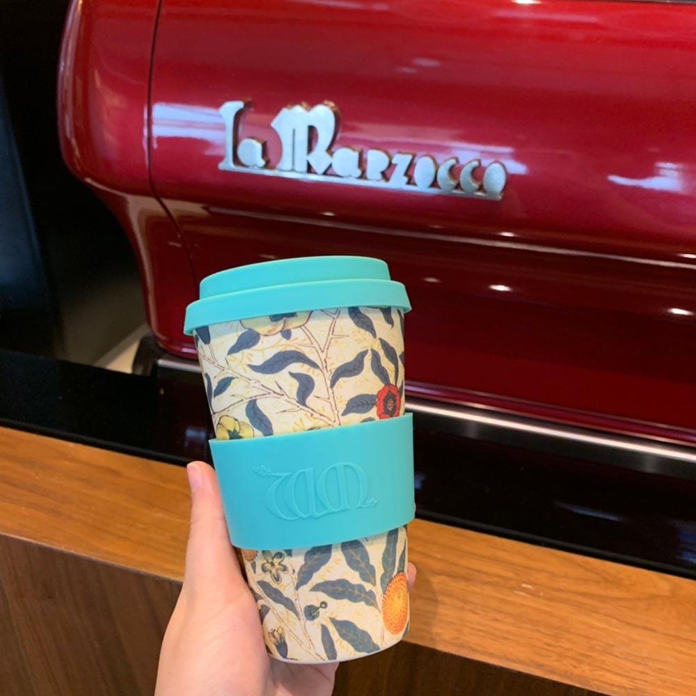 Ecoffee Cup 環保隨行杯14oz-morris藝術聯名款-石榴