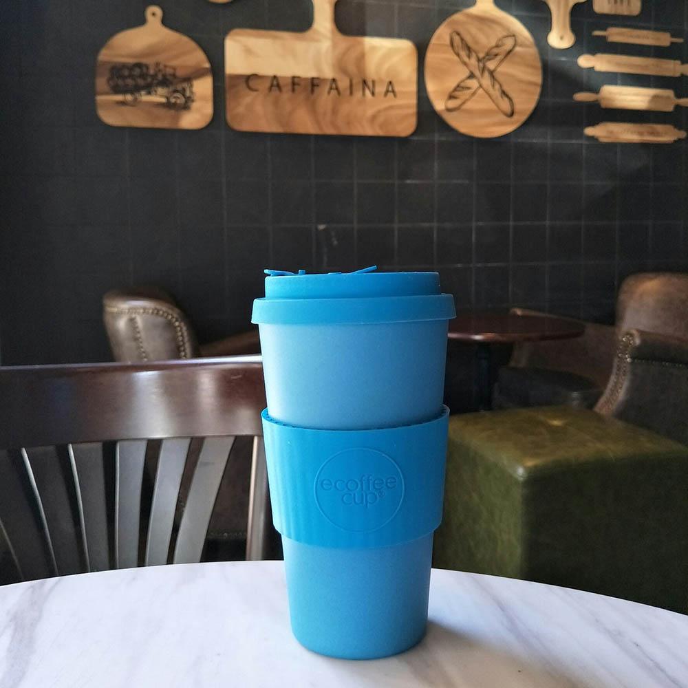 Ecoffee Cup|環保隨行杯16oz-大海藍