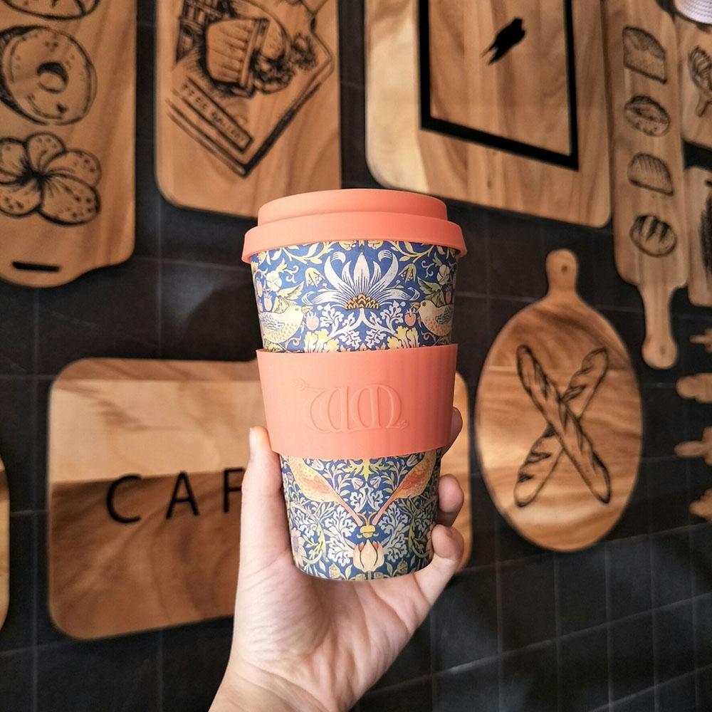 Ecoffee Cup|環保隨行杯14oz-morris藝術聯名款-採莓賊