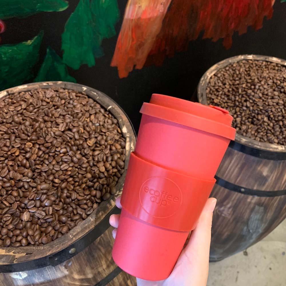 Ecoffee Cup|環保隨行杯16oz-夕陽紅