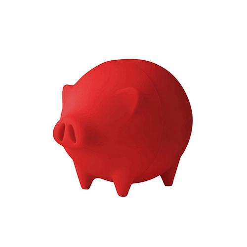 桔禾創意|開薪小豬-撲滿(紅)