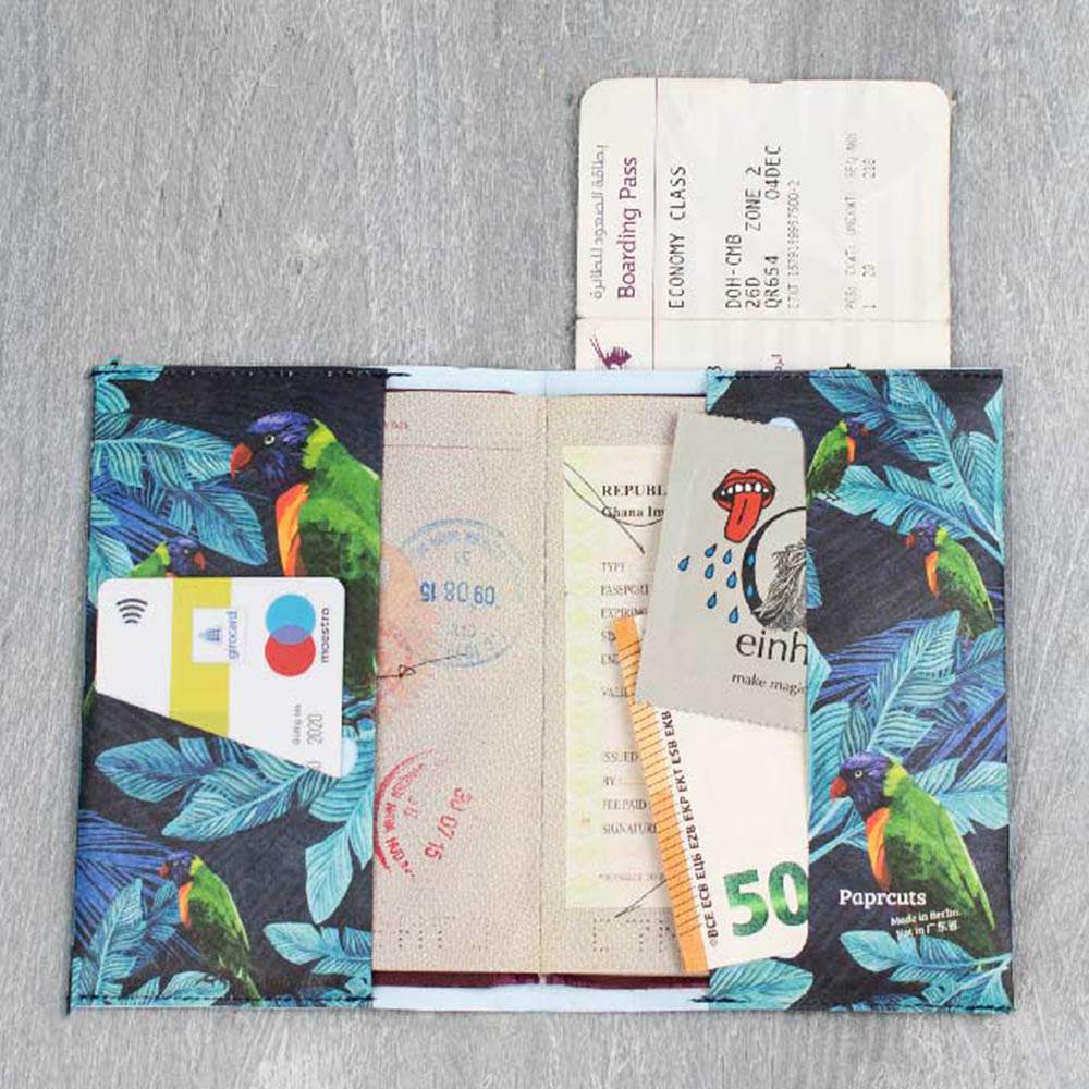 paprcuts|護照夾(天堂鳥)