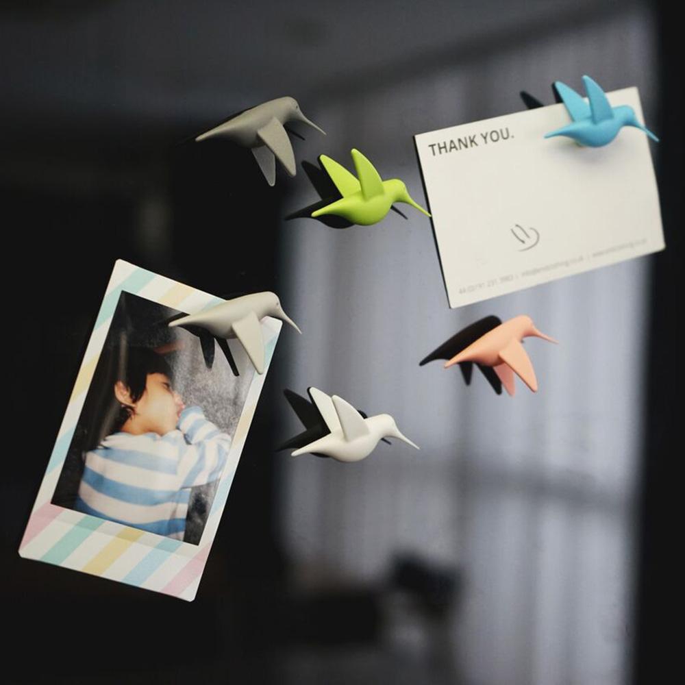 QUALY|蜂鳥飛訊-磁鐵(粉嫩)