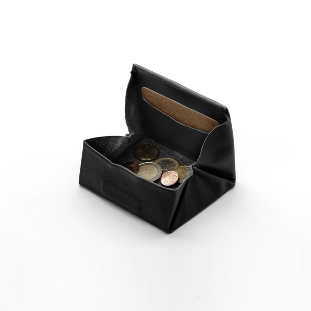 labrador|建築黑-摺疊零錢包