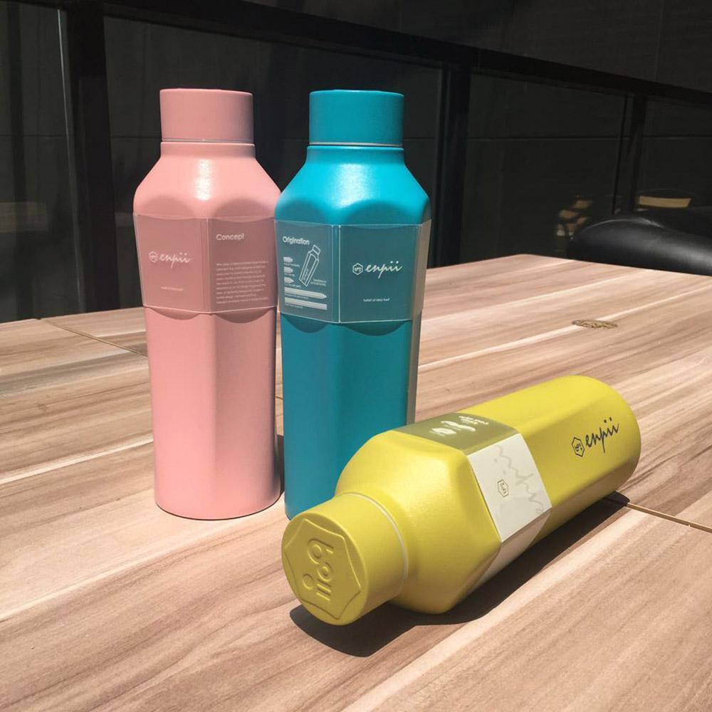 BOII|本因保溫瓶450ml(湖水藍)