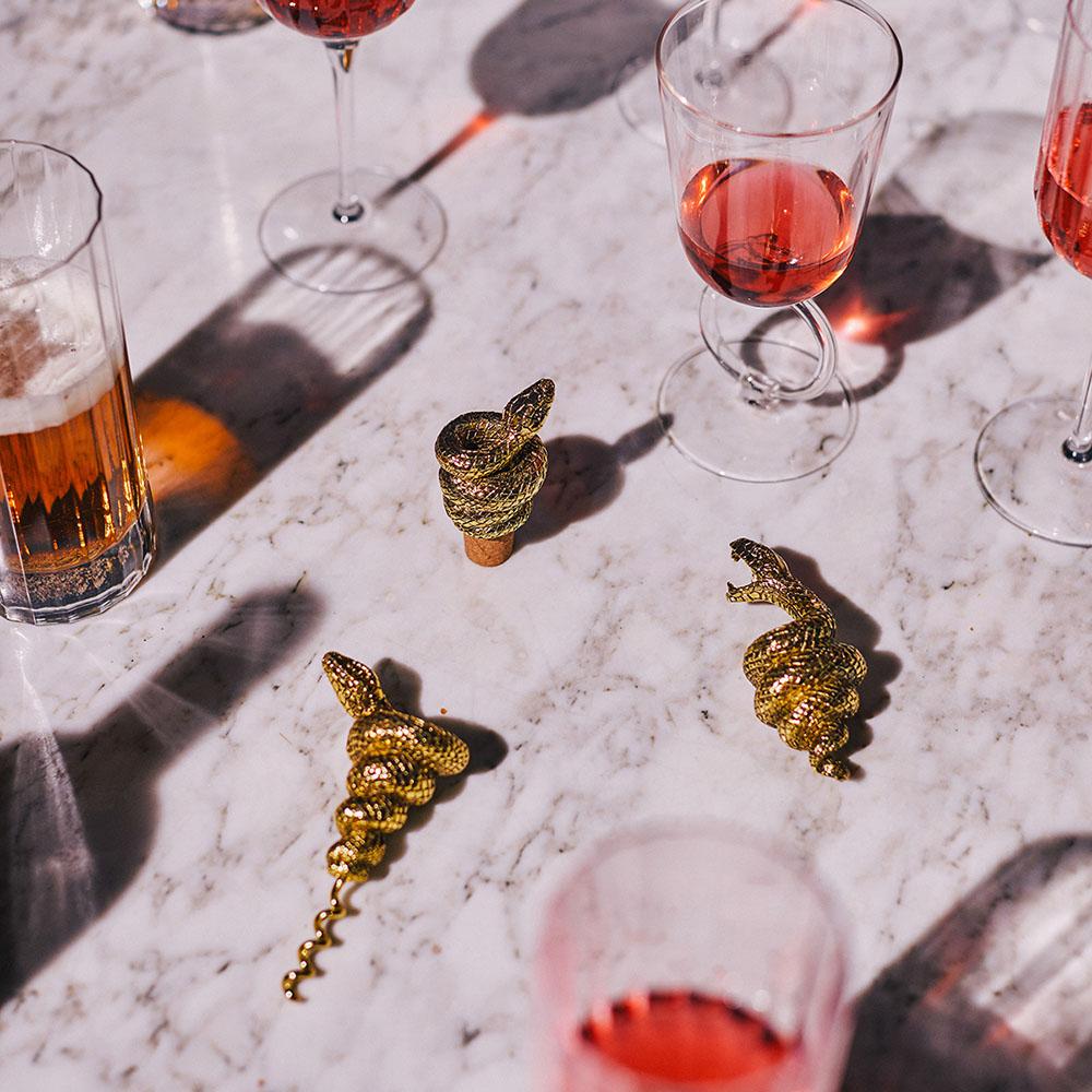 DOIY|眼鏡蛇紅酒開瓶器