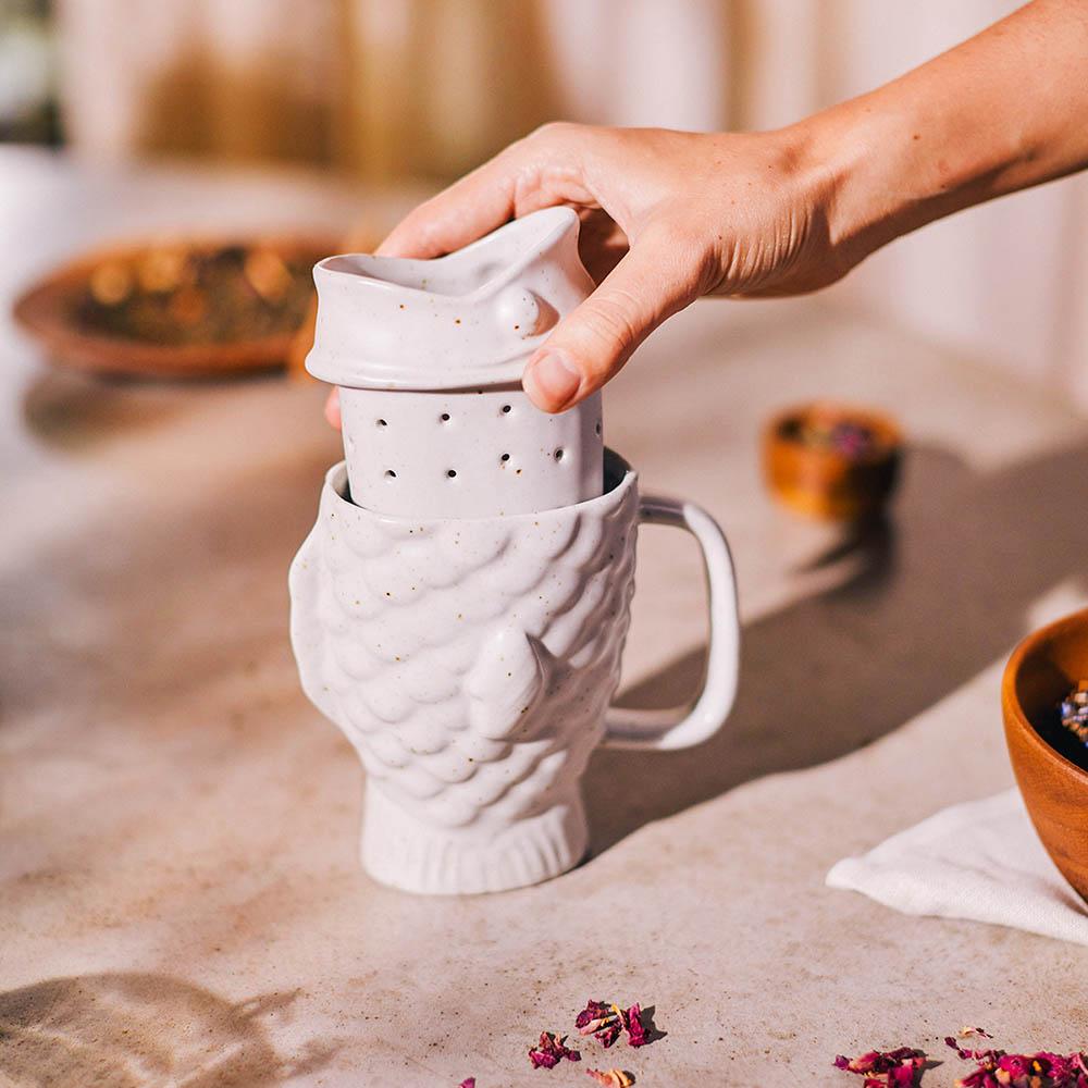 DOIY|鯛魚燒泡茶杯