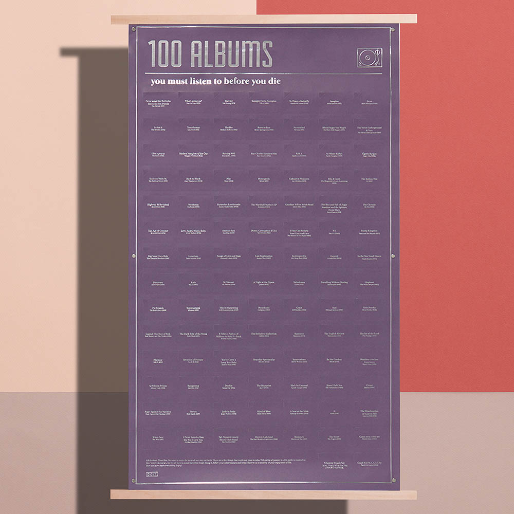 DOIY|100張死前必聽的專輯