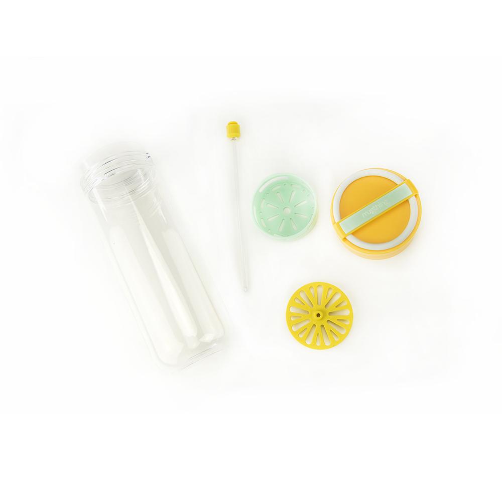 mugthing|鮮果串-健康鮮飲瓶(藍綠)