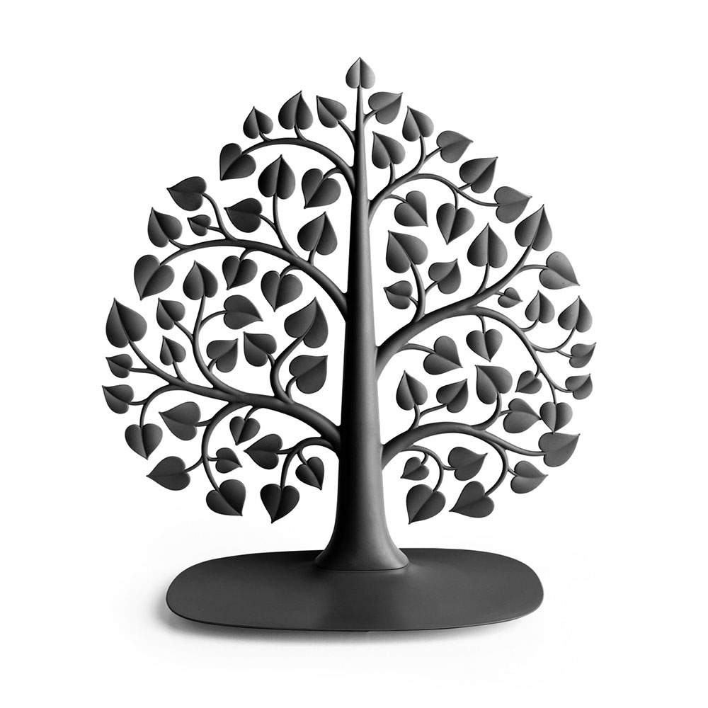 QUALY|大樹掛架-飾品架(黑)