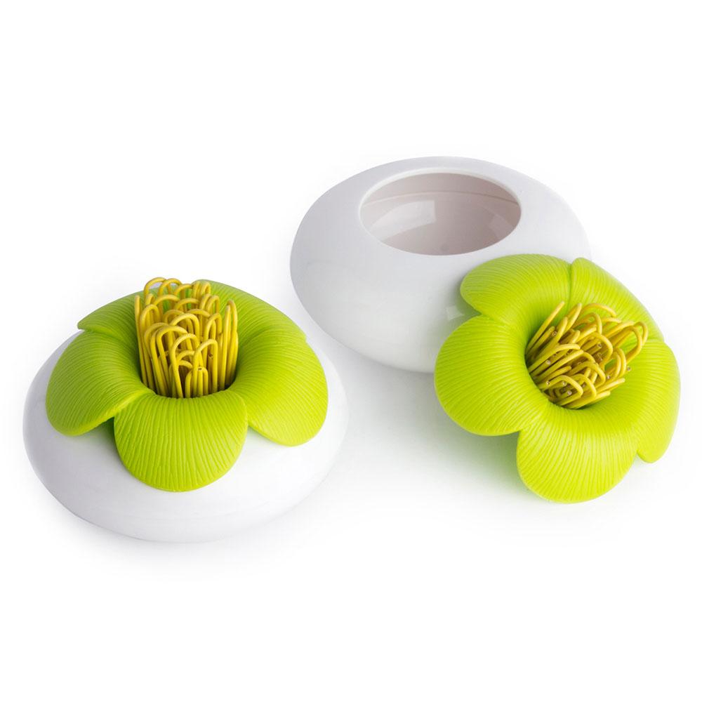 QUALY 山茶花-置物罐